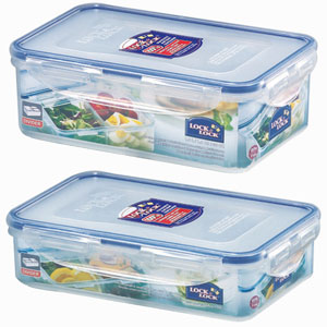 Lock & Lock Divider's Series Container - Set of 2
