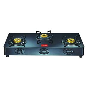 Gas Tops & Cook Tops-Prestige 3 Burners Duplex Glass Top - GT 03L