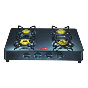 Prestige 4 Burners Glass Top - GT 04