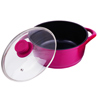 Wonderchef Ceramide Casserole with Glass Lid - 16 cm