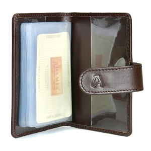 Full Grain Softy Card Holder