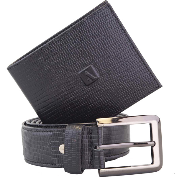 Admais Wallet and Belt Set