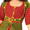 Rajasthani Booti Work Lehanga Choli for Girls