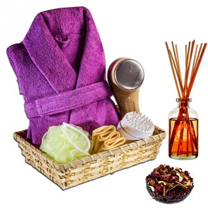 Spa Essentials Basket