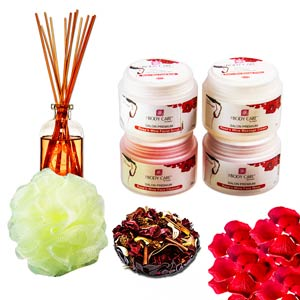 Rose & Wine Gentle Facial Spa Hamper