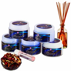 Beauty & Spa Hampers-Precious Platinum Spa Hamper