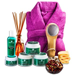 Beauty & Spa Hampers-Mint Pineapple Spa Hamper