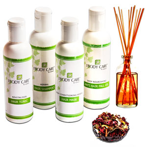 Revitalizing Herbal Hair Spa Hamper