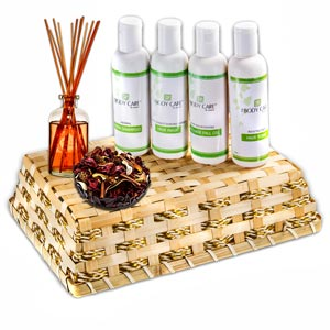 Beauty & Spa Hampers-Revitalizing Herbal Hair Spa Hamper