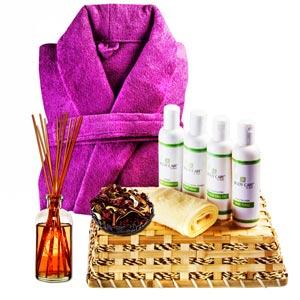 Beauty & Spa Hampers-Revitalizing Herbal Hair Spa Hamper