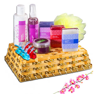 Flower Shower Basket