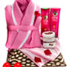 Gift Rosy Pamper Basket on Mothers Day