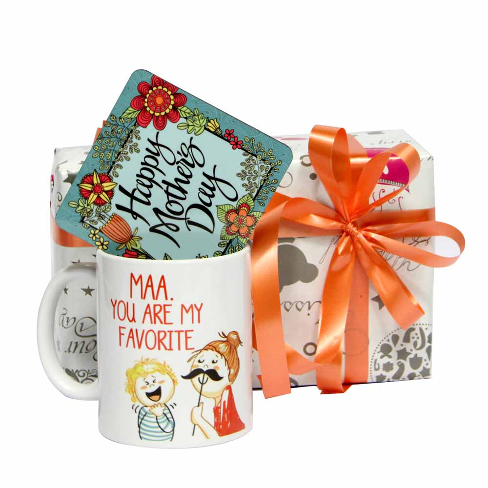 Mug with Floral Coaster GIFTS111132