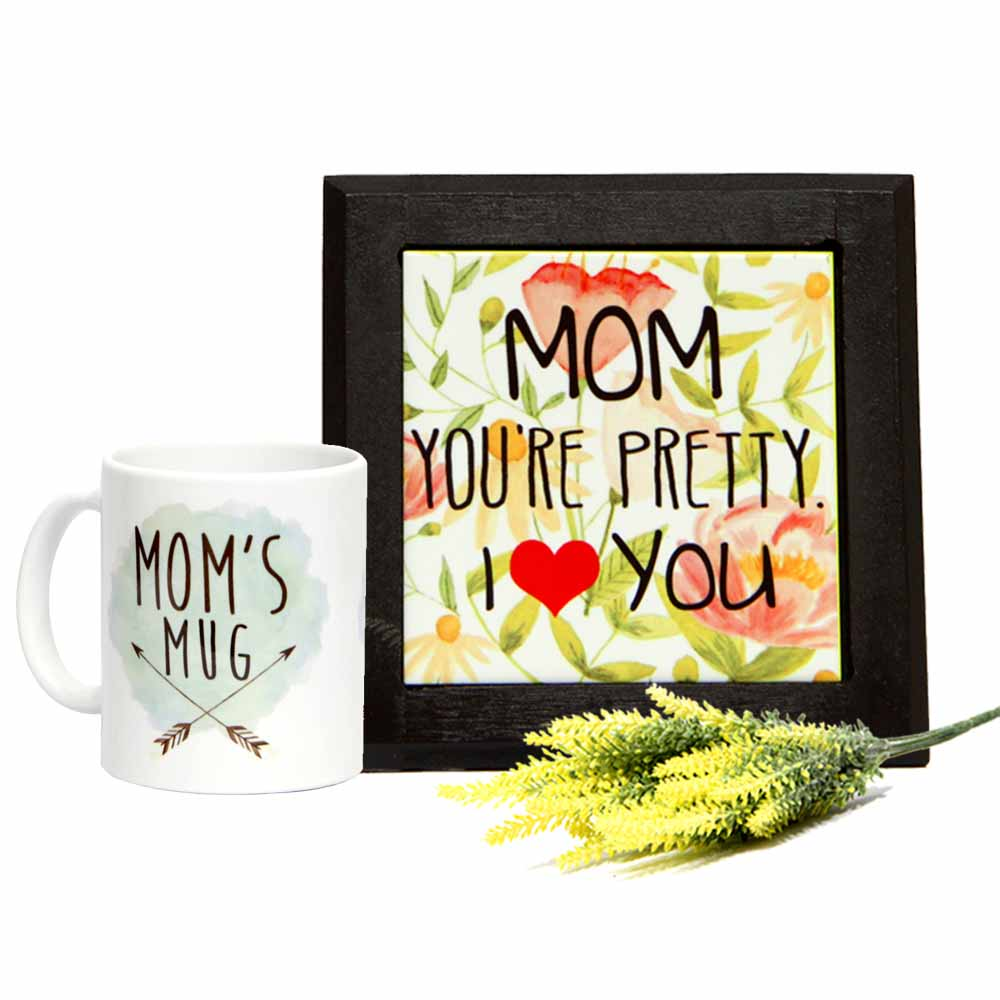 Table Top with Mug for Charming Mom GIFTS111213
