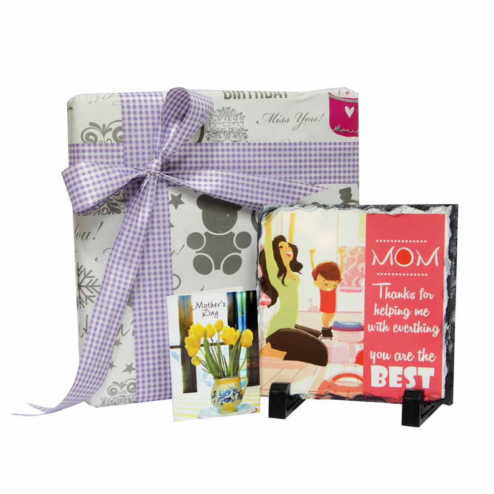Best Mom Tile with Card GIFTS111251