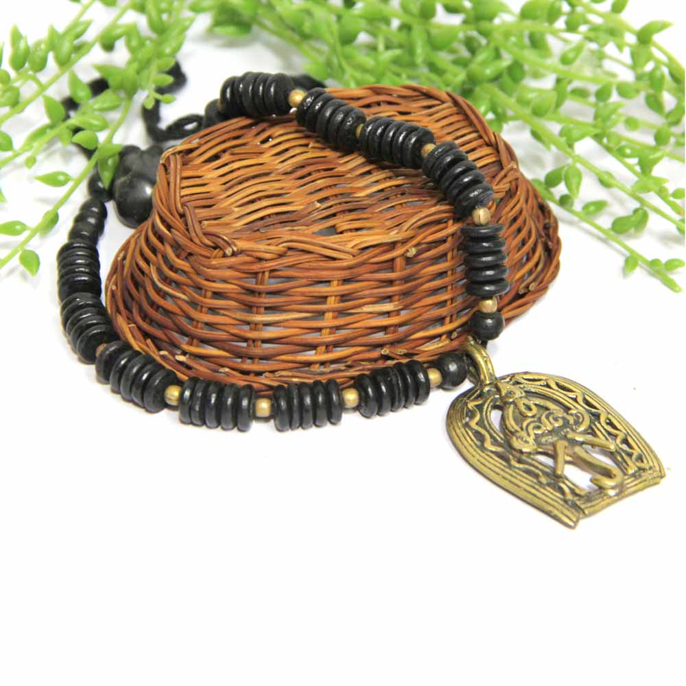 Black and Antique Neckpiece GIFTS111260