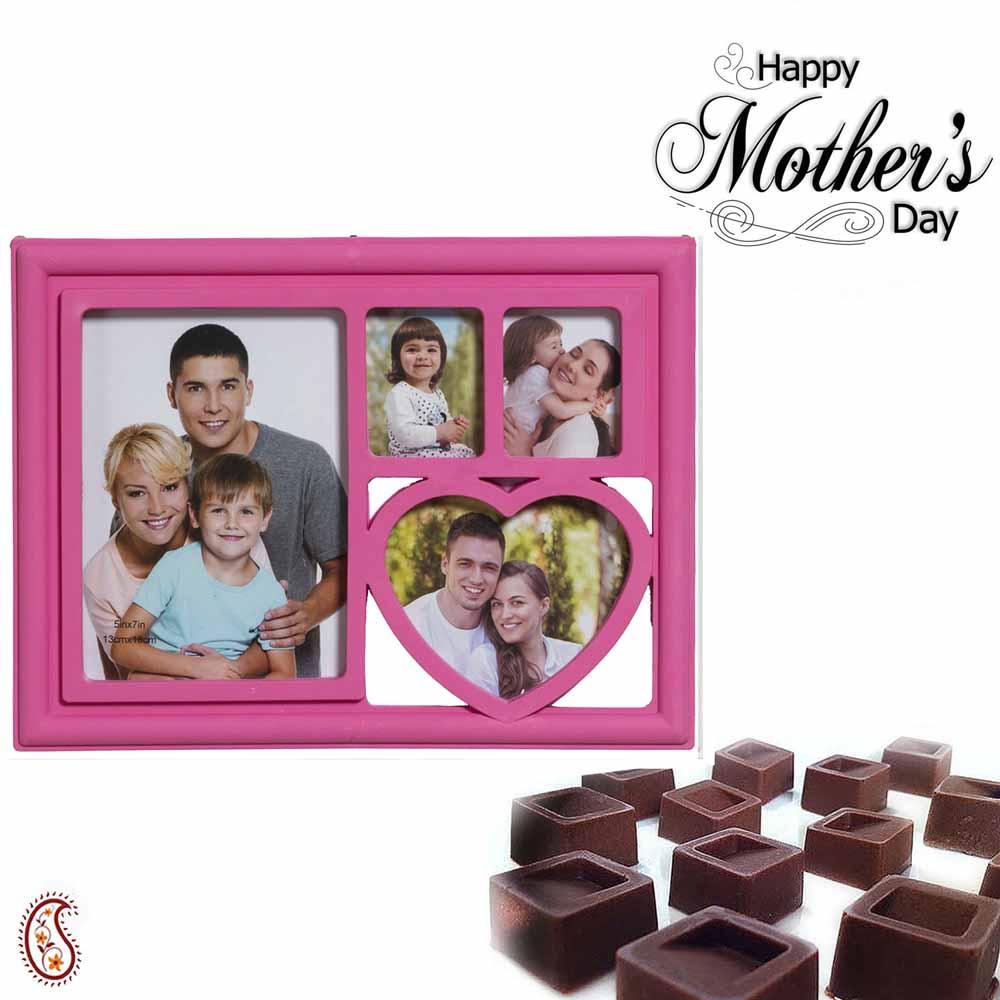 Stylish Photoframe & Chocolate Hamper