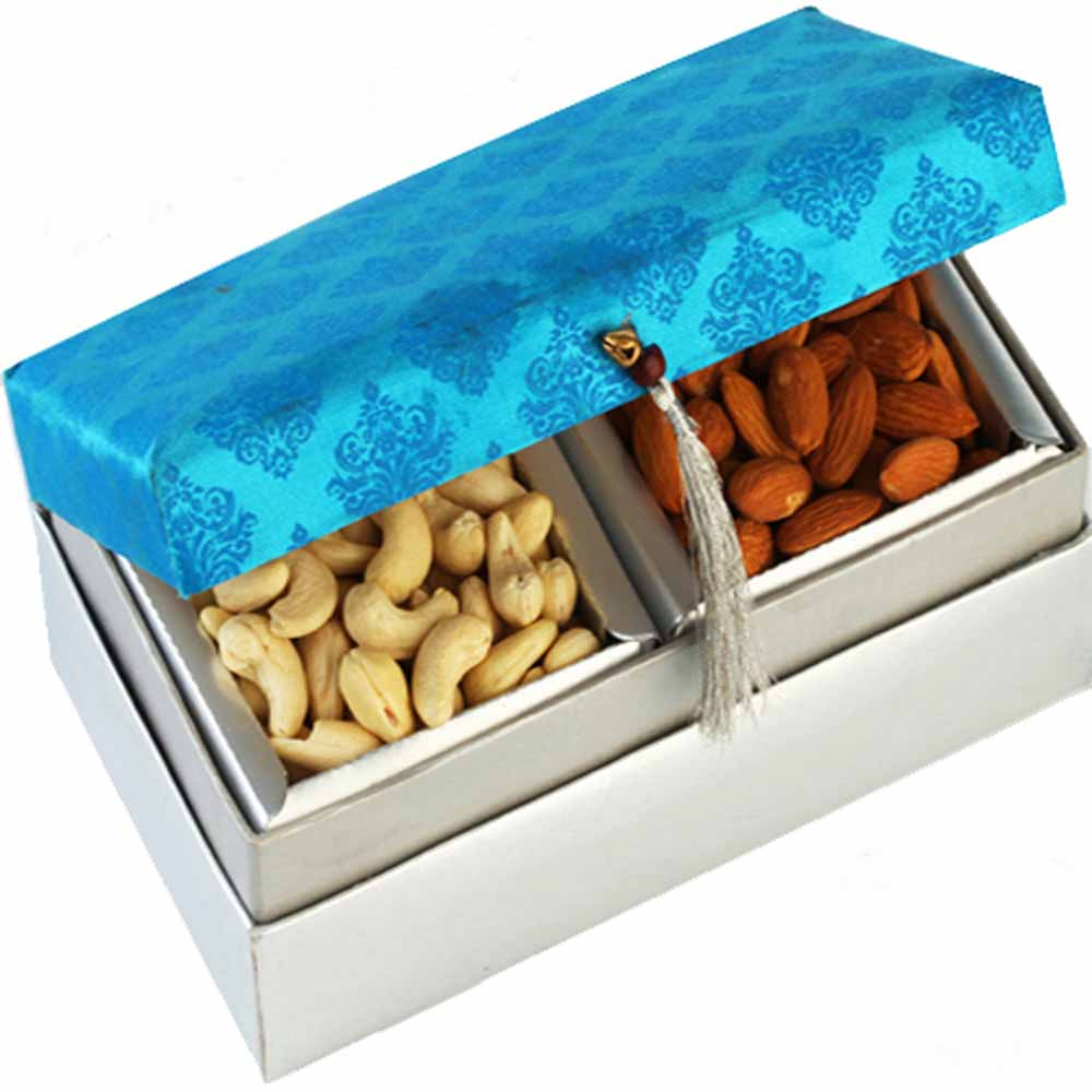 Mothers Day-Blue Kaju Badam Box