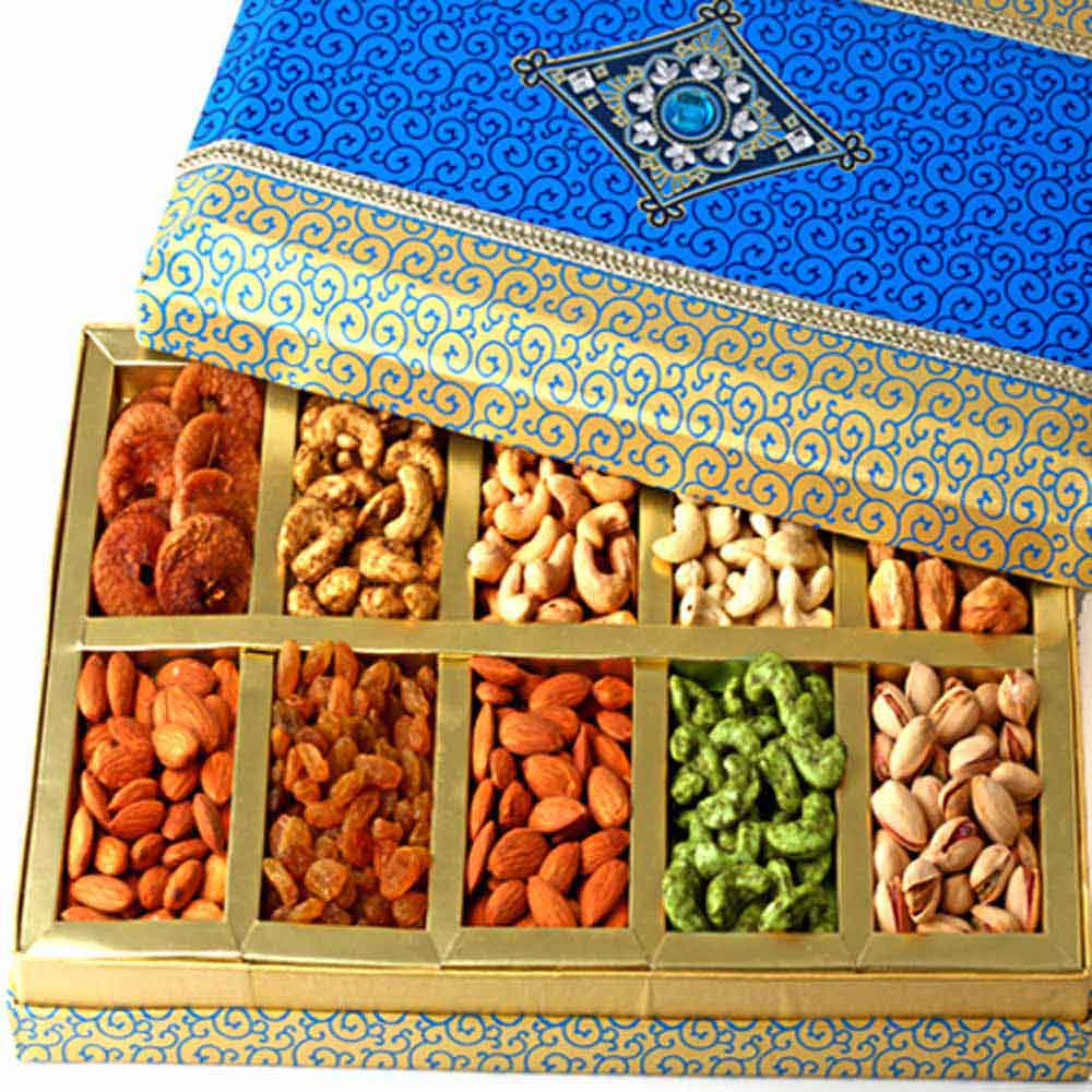 Mothers Day-Exotic Dryfruit Box of 10 Dryfruits