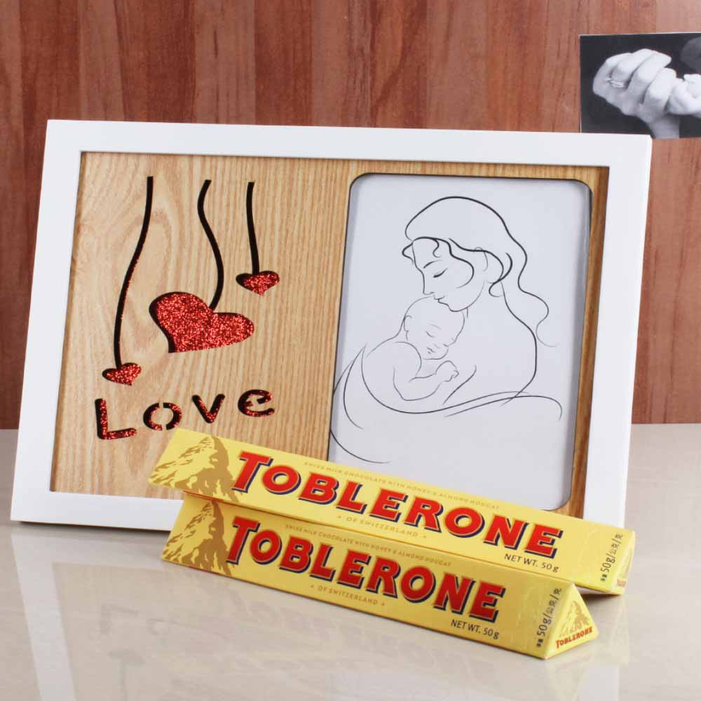 Love Frame and Tolerance Chocolate for Mummy