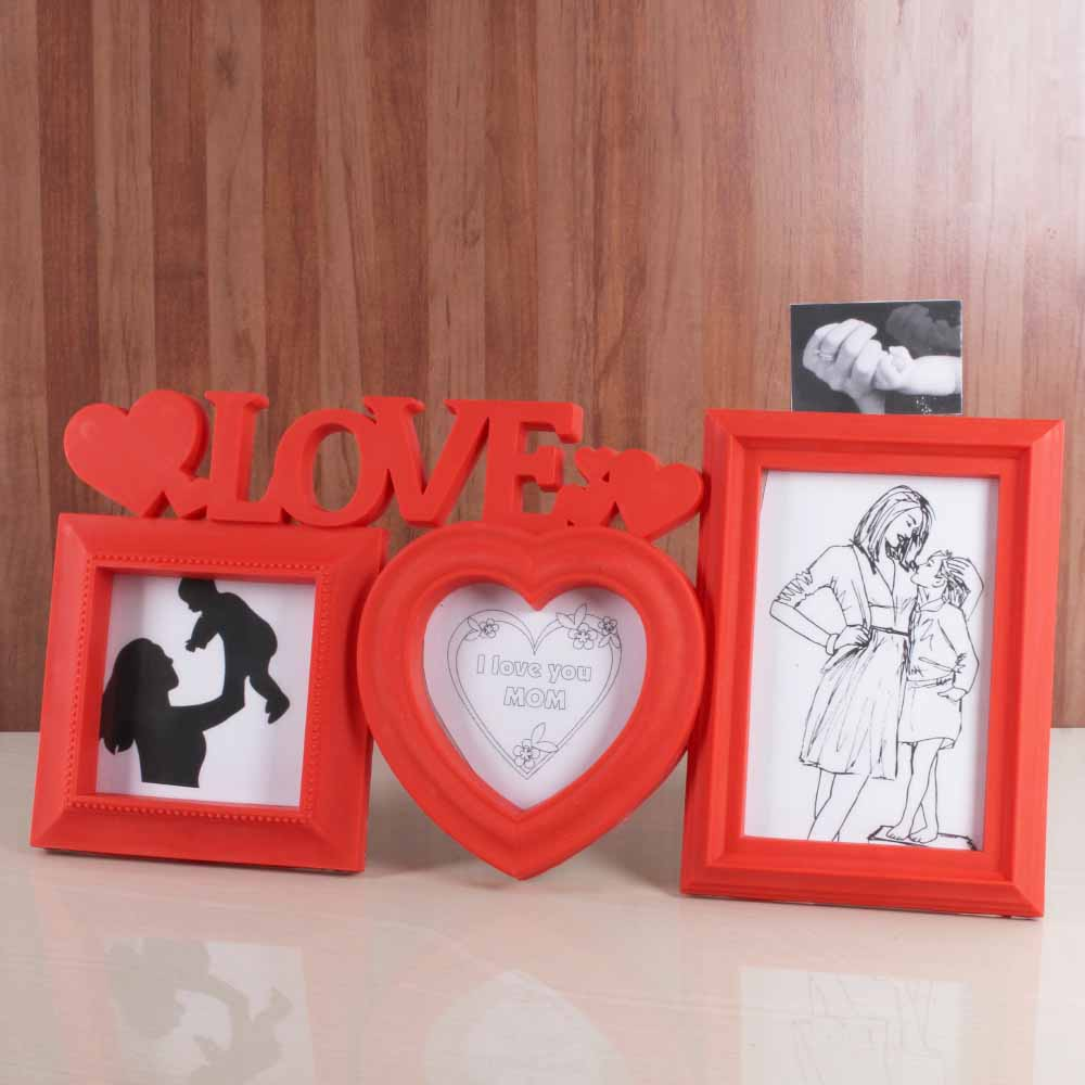 Triple Love Frame for Mommy