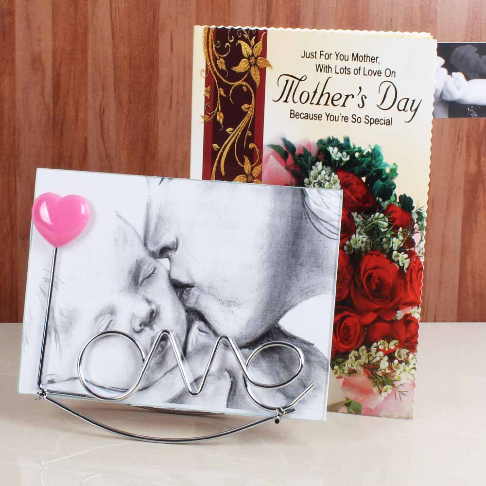 Love Photo Frame for Mommy with Greeting Card
