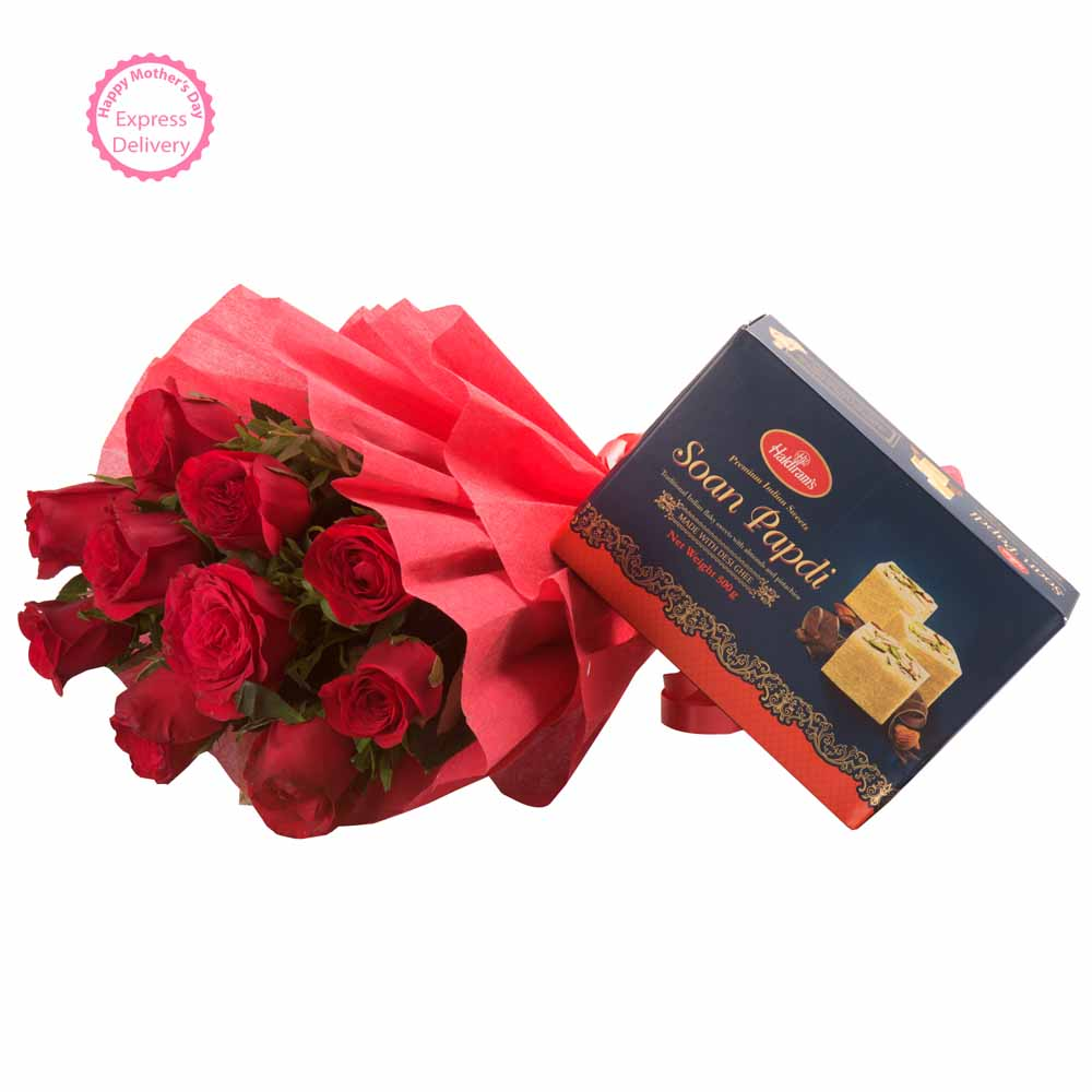 Roses with Sone Papri