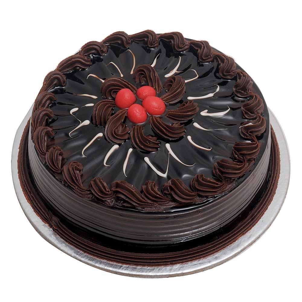 Eggless Chocolate Truffle Cake