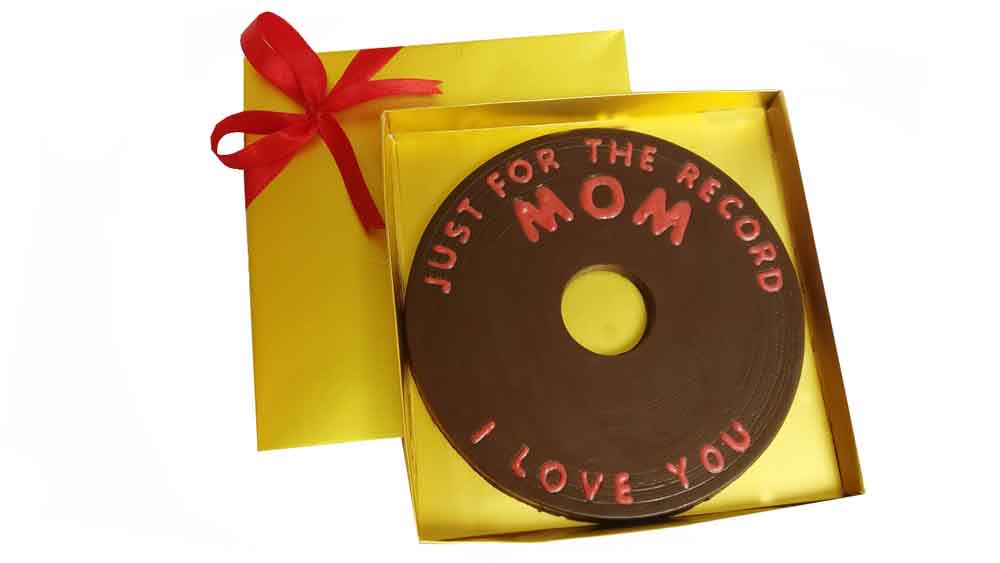 Just for the Record I Love You Mom Chocolate