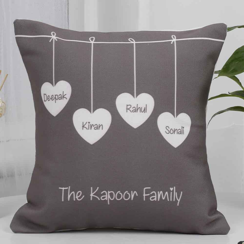 Mothers Day Cute Family Cushion