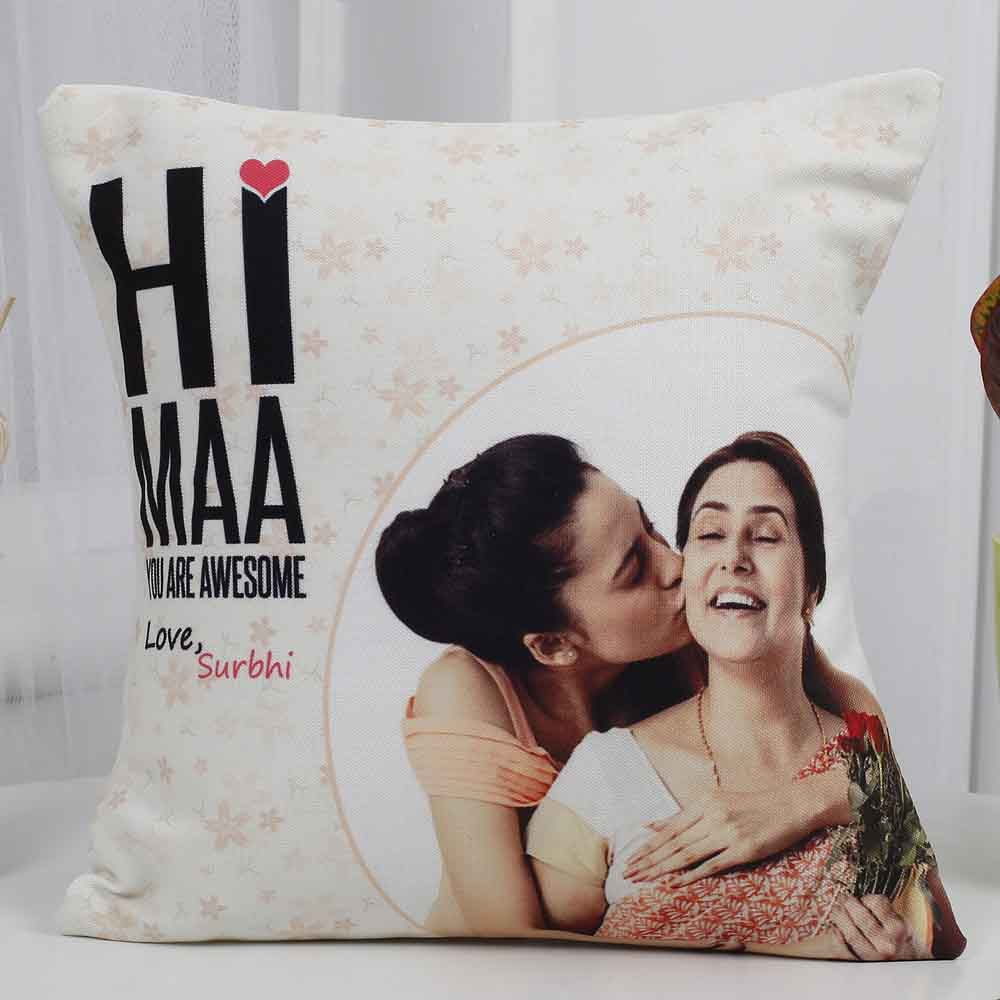 Mothers Day Love You Mom Cushion