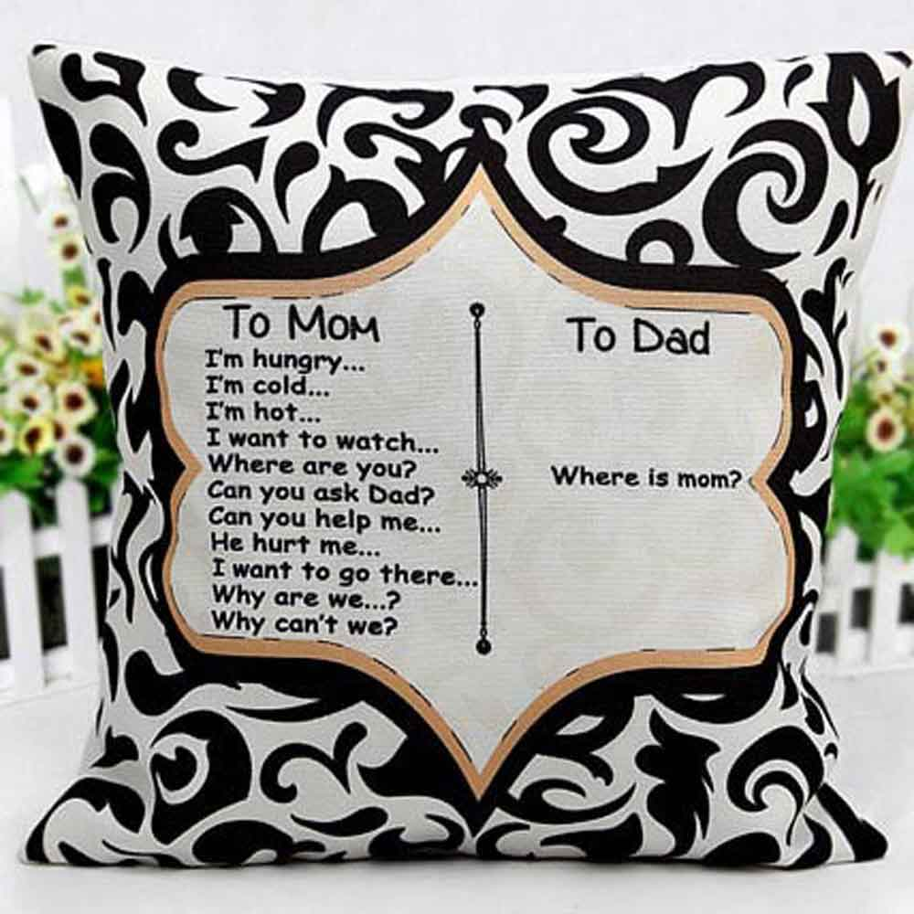 Mothers Day Cushion filled with Love