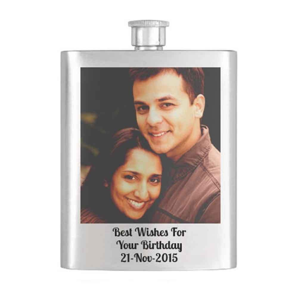 Miscellaneous-Personalised Hip Flask