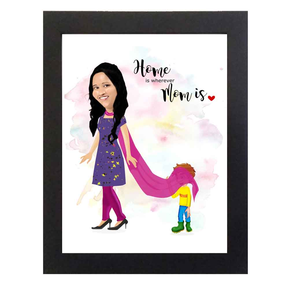 Personalized Caricature Frame