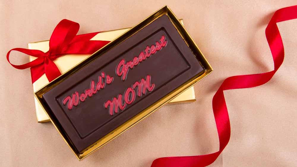 World's Greatest MOM chocolate Bar