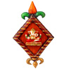 Diamond Shaped Ganesha Hanging