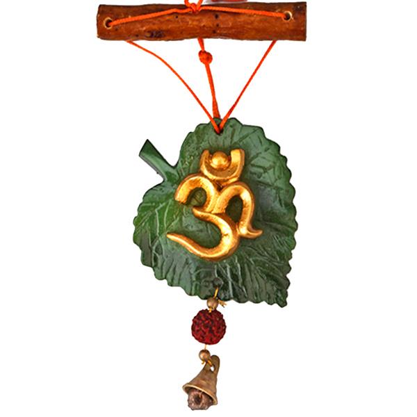 Om Leaf Hanging
