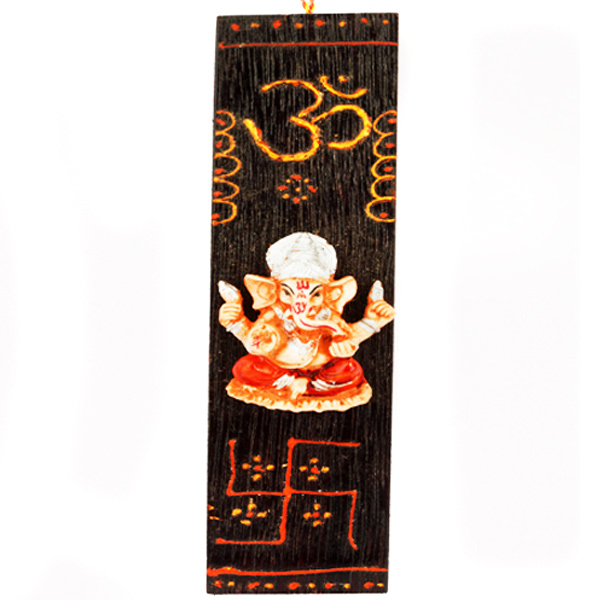 Long Wooden Ganesha Hanging