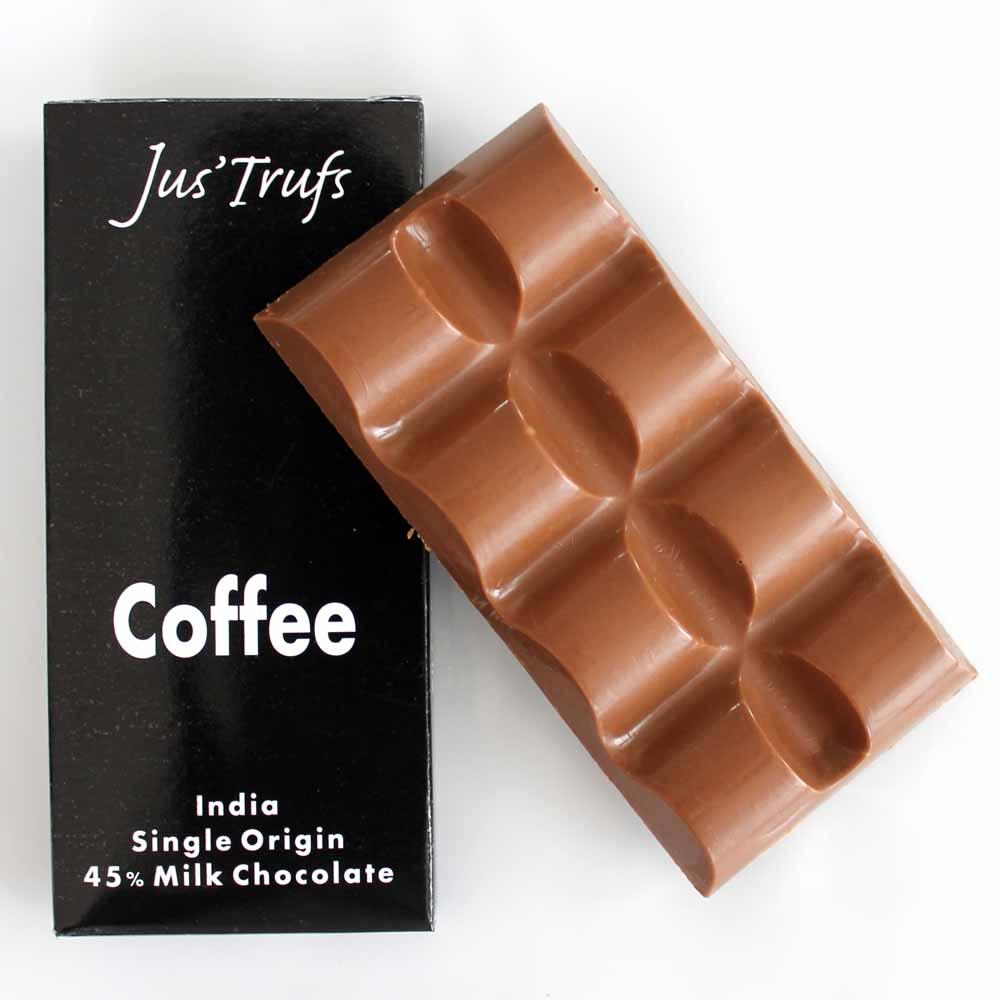 Set of two ArtisanalCoffee Chocolate Bar 80 gm