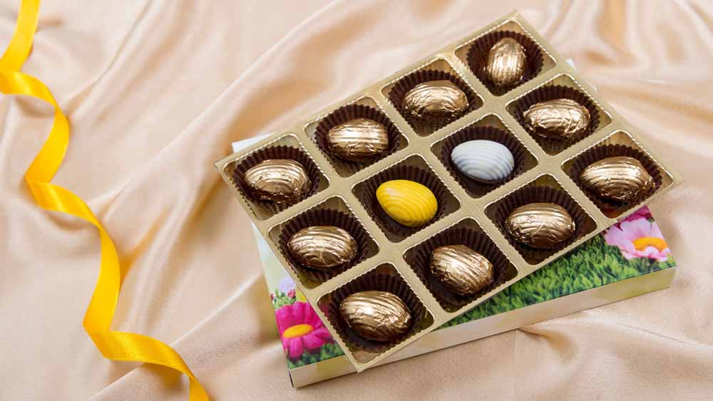 EASTER CHOCOLATE EGG GIFT BOX