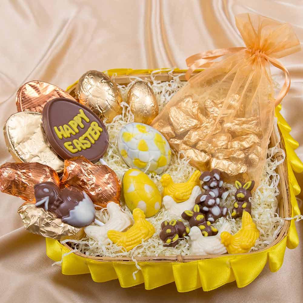 Eggciting Chocolate Basket