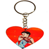 Personalized Wood Keychain - Heart