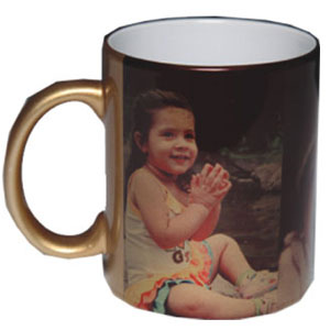 Personalized Golden Mug