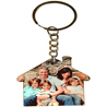 Personalized Wood Keychain - Home