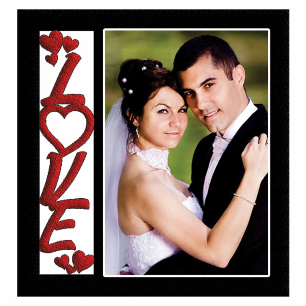 Personalized Love Best Couple Photo Frame – 08