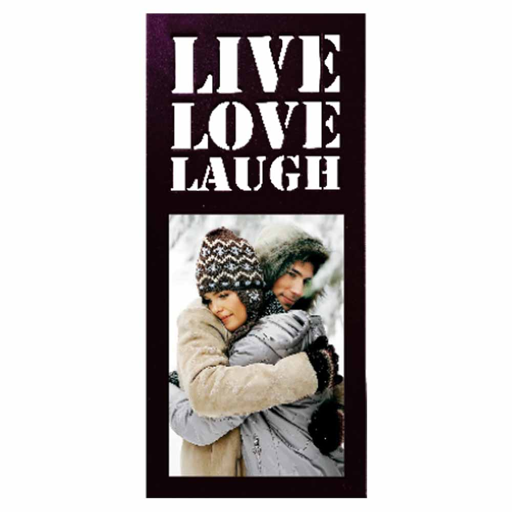 Personalized Love Live Laugh Photo Frame – 10