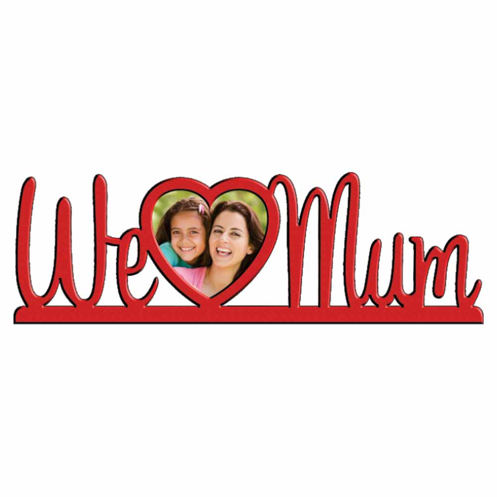 Personalized Love Mom Photo Frame - 22