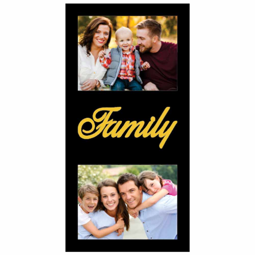 Personalized Family Wooden Photo Frame - 29