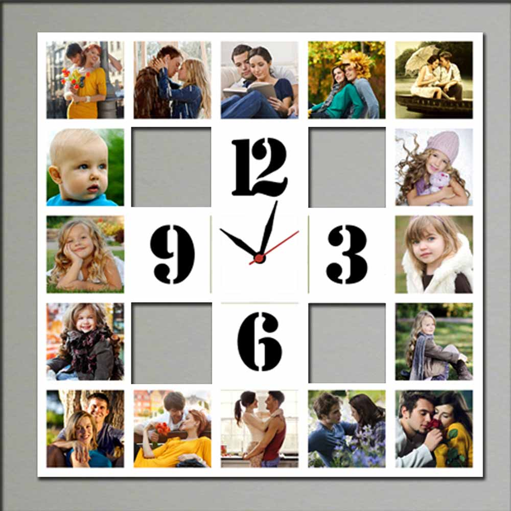 Personalized 12pc Wall Clock - 06