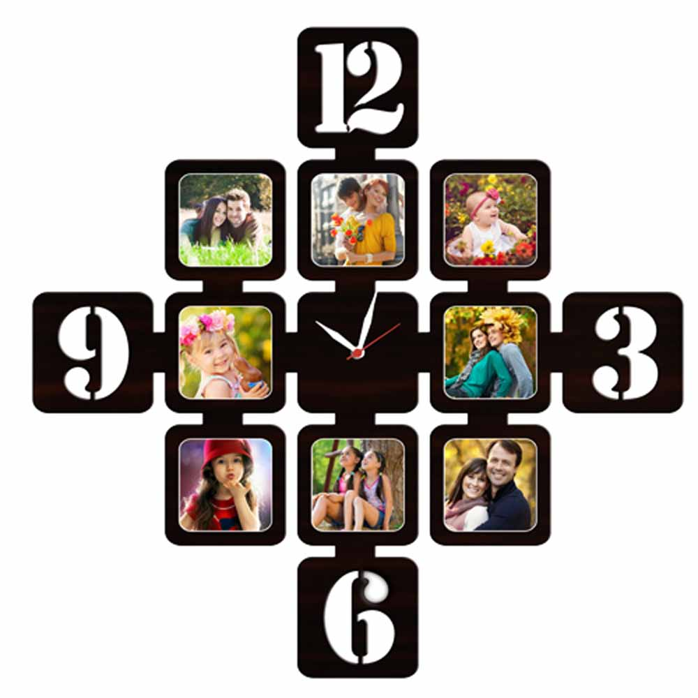 Personalized 8pc Wall Clock - 07
